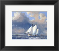 Framed Majestic Sails