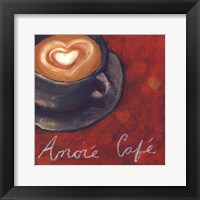 Framed Cafe Amore II