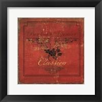Framed Vino II
