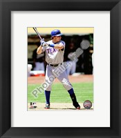 Framed Ian Kinsler 2010 Action