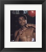 Framed Muhammad Ali Posed (#20)