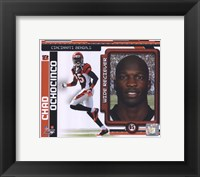 Framed Chad Ochocinco 2010 Studio Plus
