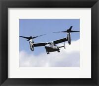 Framed V-22 Osprey United States Marine Corps