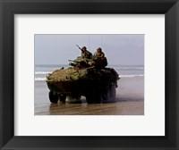 Framed LAV-25 Light Armored Vehicle United States Marine Corps