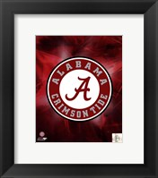 Framed University of Alabama Crimson Tide 2010 Logo