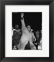 Framed Vince Lombardi 1966