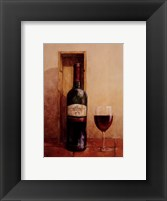 Framed Open Bottle I