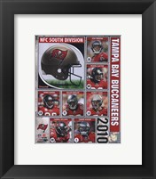 Framed 2010 Tampa Bay Buccaneers Team Composite