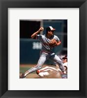 Framed Cal Ripken Jr. 1985 Action