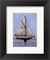 Framed Model Boat