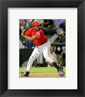 Framed Vladimir Guerrero 2010 Action