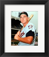 Framed Harmon Killebrew Posed
