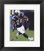 Framed Ryan Mathews 2010 Action