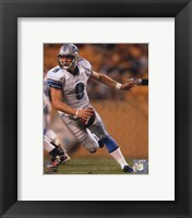 Framed Matthew Stafford 2010 Action