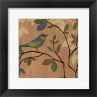 Framed Songbird III