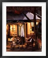 Framed La Brasserie III