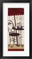 Tango Coffeee I Framed Print
