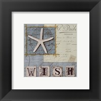 Beach Journal II Framed Print