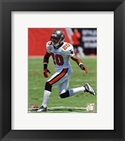 Framed Ronde Barber 2010 Action
