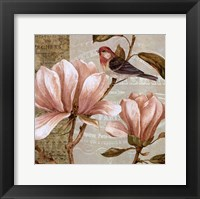 Magnolia Collage I - Mini Framed Print
