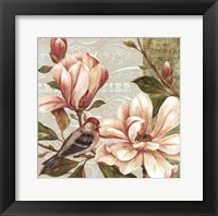 Magnolia Collage II - mini Framed Print