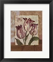 Flower Trio - mini Framed Print