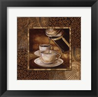 Coffee III Framed Print