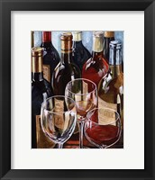 Wine Reflections I - mini Framed Print