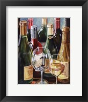 Wine Reflections II - mini Framed Print