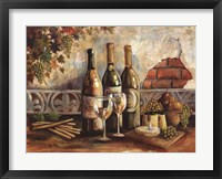 Framed Bountiful Wine I