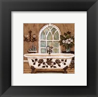 Country Inn Bath II Framed Print