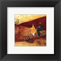 Rolling Home Together Framed Print