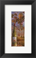 Framed Wine Country I