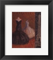 Couture II Framed Print