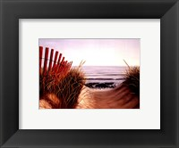 Framed Beach Path