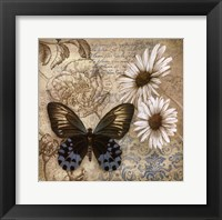 Framed Butterfly Garden I