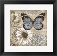 Framed Butterfly Garden II