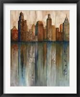 Framed City View I