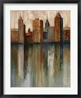 City View II Framed Print