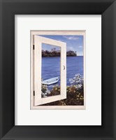 Bay Window Vista I Framed Print