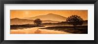 Framed Sunrise Landscape I