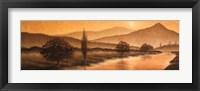 Framed Sunrise Landscape II