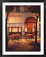 Framed Evening Restaurant