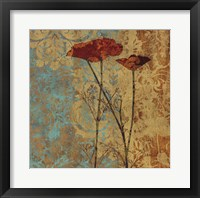 Framed Poppy Pattern II