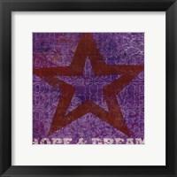 Framed Believe Hope Dream