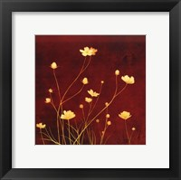 Framed Flores en el Campo I