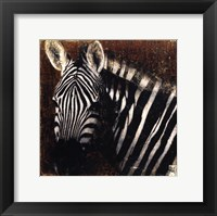 Framed Portrait de Zebre