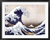 Framed Wave off Kanagawa