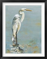 Framed Herons I