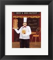 Chef's Specialties I Framed Print